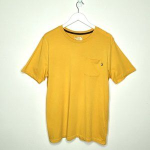 The North Face Yellow T-shirt with Chest Pocket